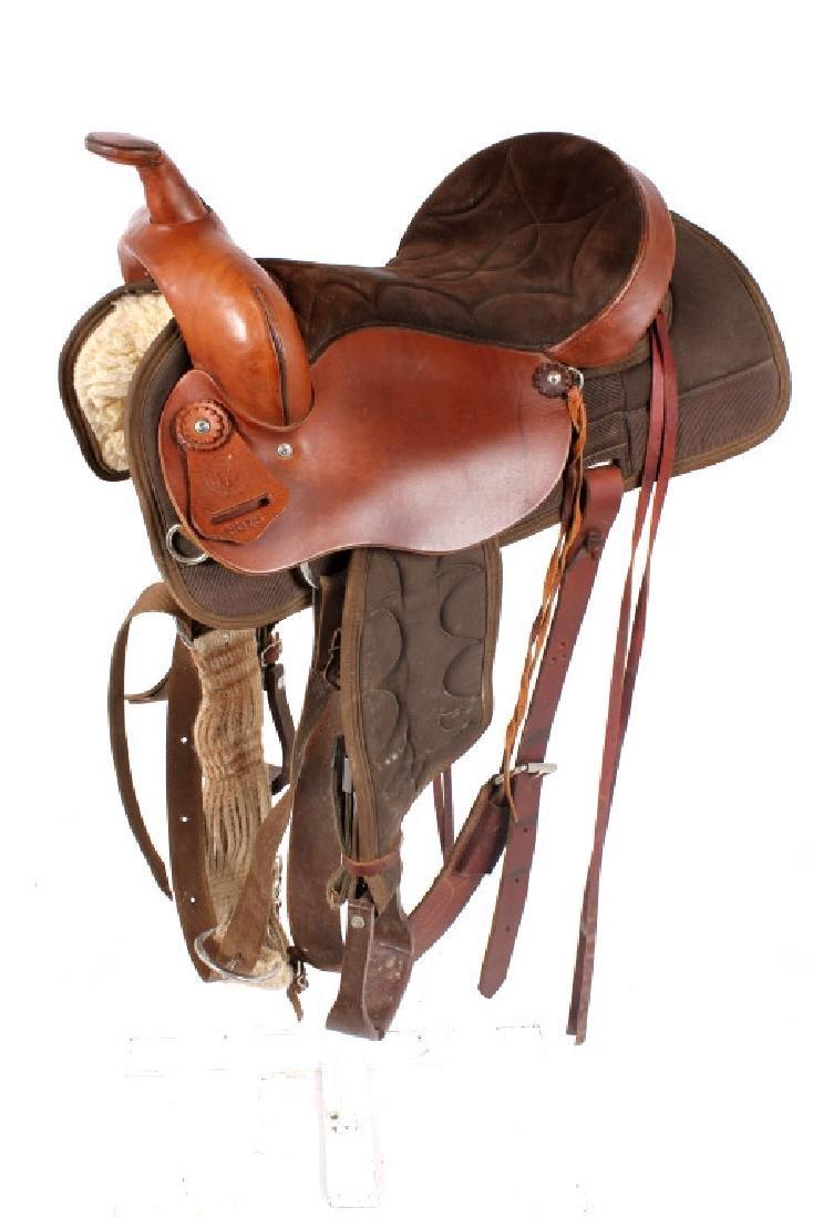 Court's Cordura Trail Saddle - 3