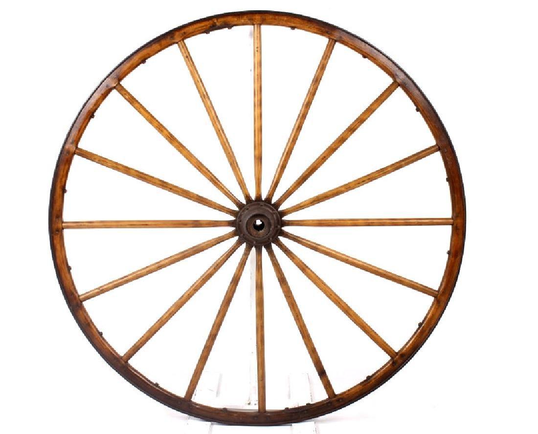 Early Montana Wagon Wheel