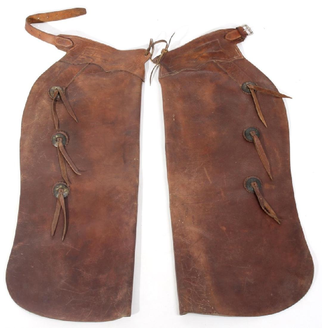Stone Saddlery Livingston, MT Batwing Ranch Chaps