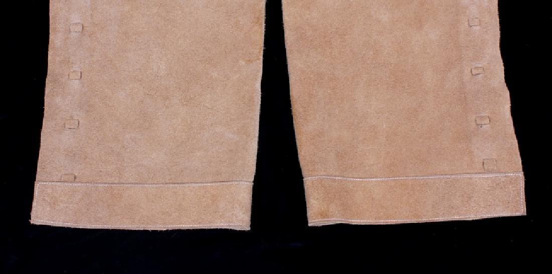 Montana Tooled Leather Shotgun Chaps - 3