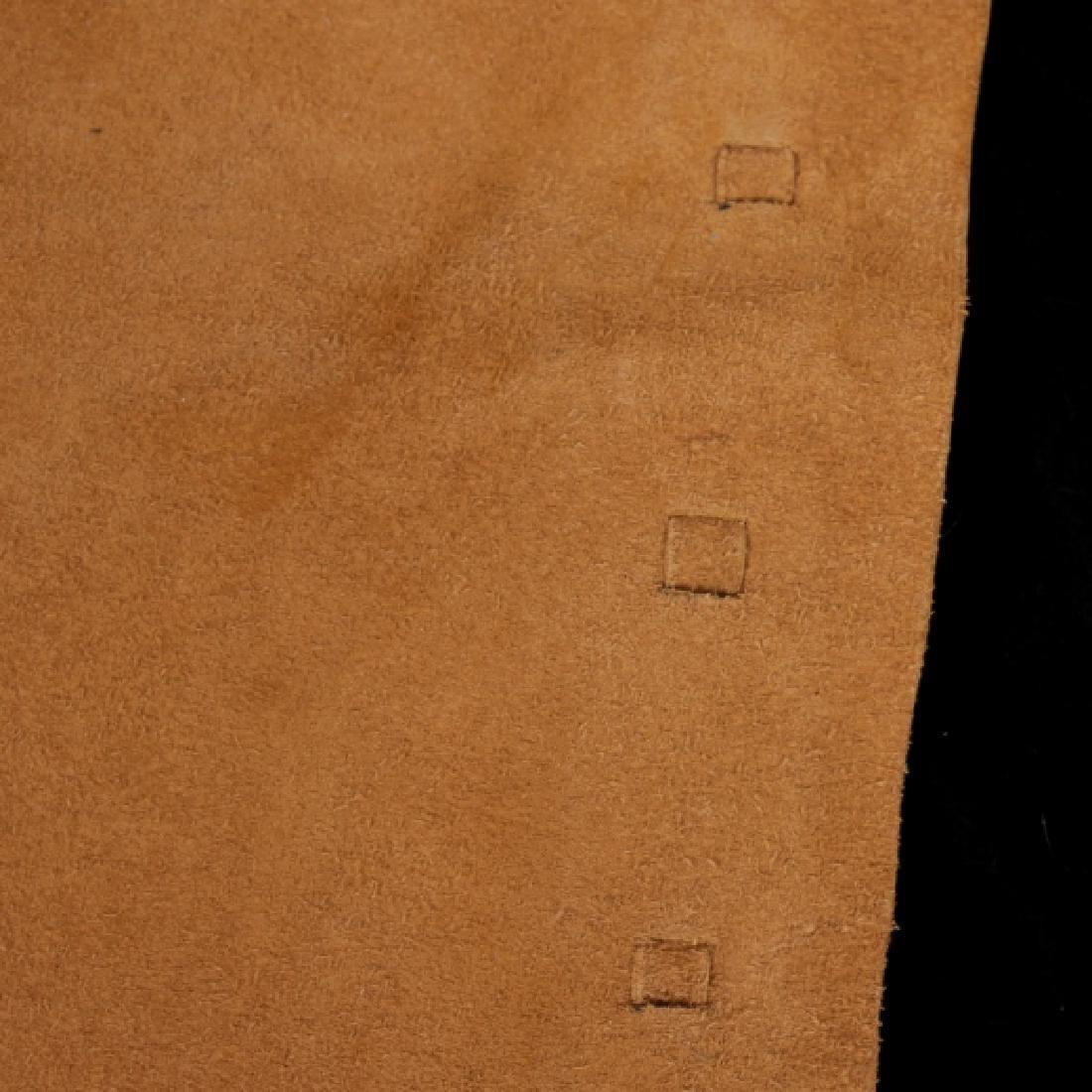 Montana Tooled Leather Shotgun Chaps - 4