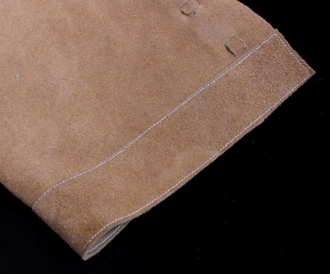 Montana Tooled Leather Shotgun Chaps - 7
