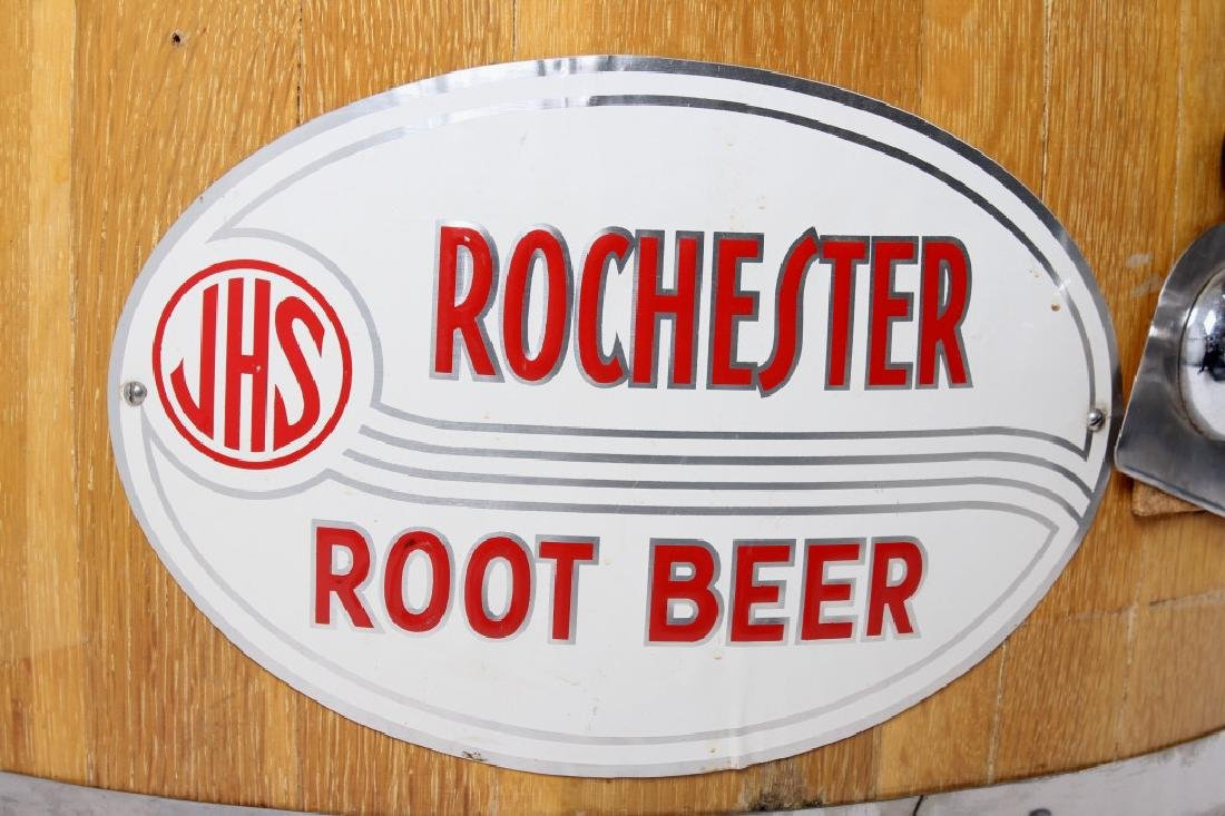 JHS Rochester Root Beer Barrel Dispenser - 6