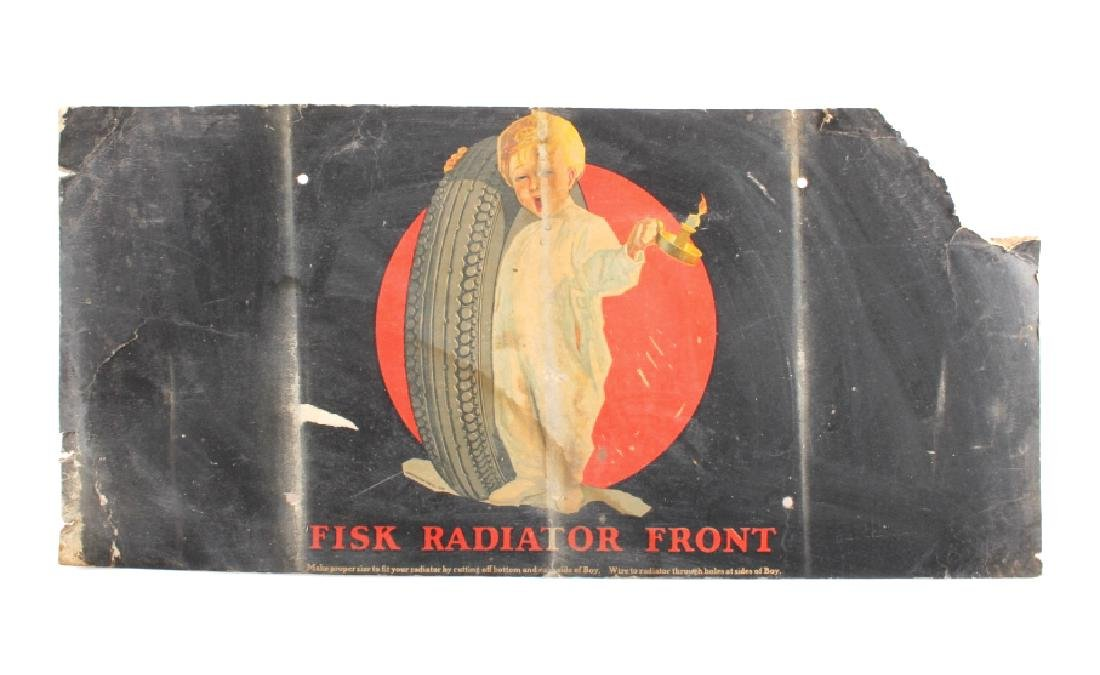 1926 Fisk Radiator Front Tire Advertisement