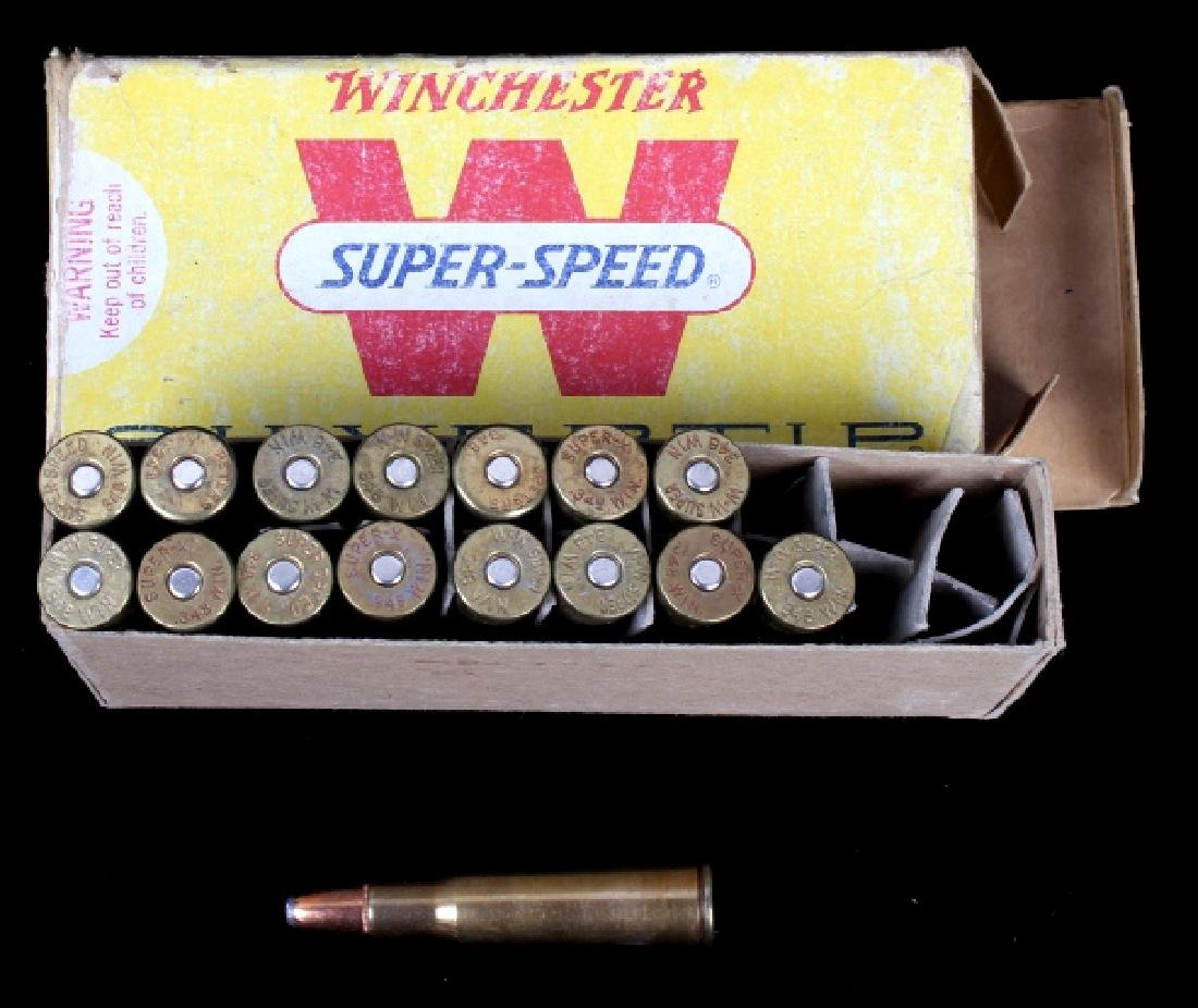 Six boxes .348 Winchester Cartridges - 12