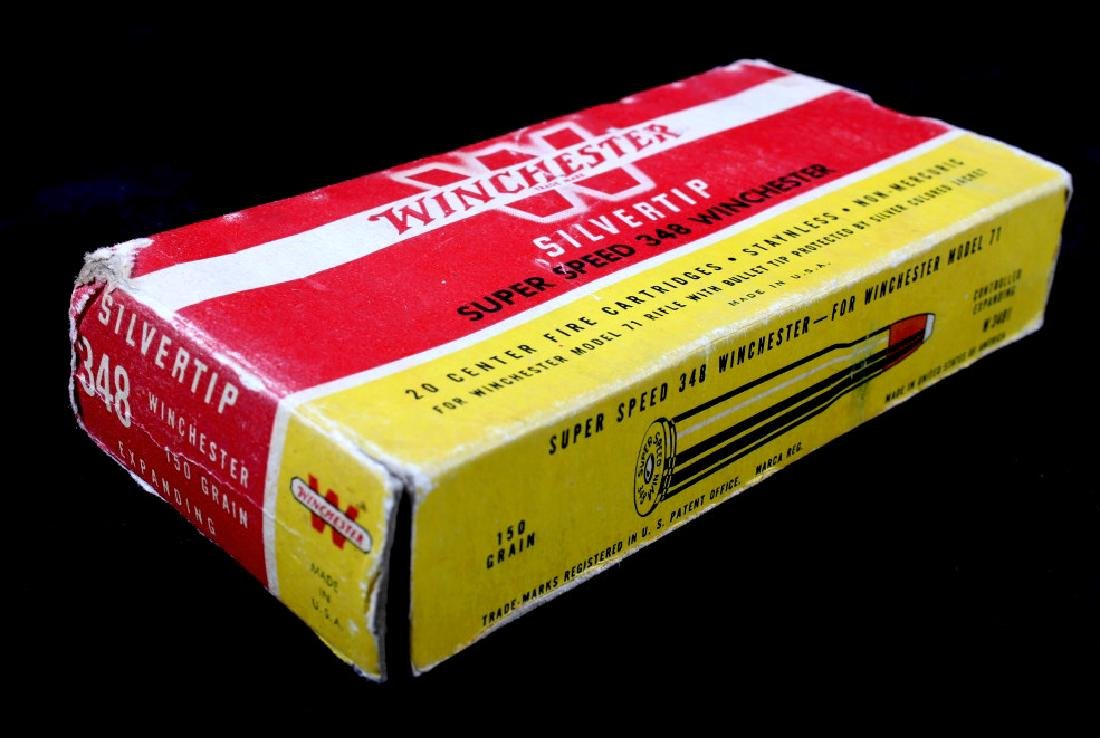 Six boxes .348 Winchester Cartridges - 3