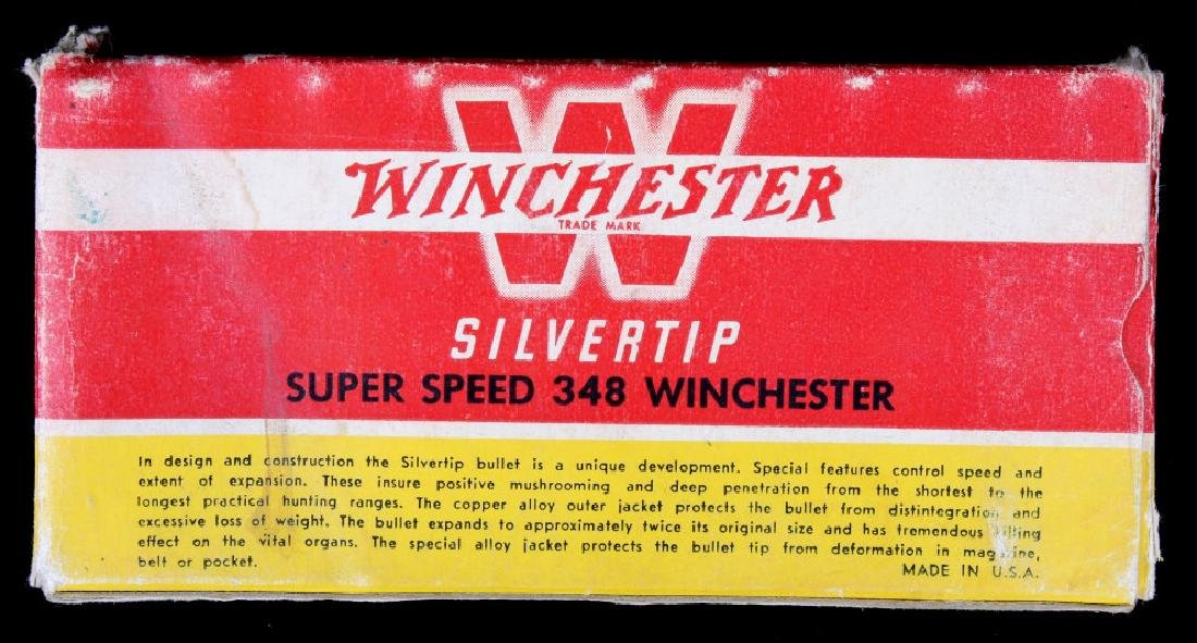 Six boxes .348 Winchester Cartridges - 4