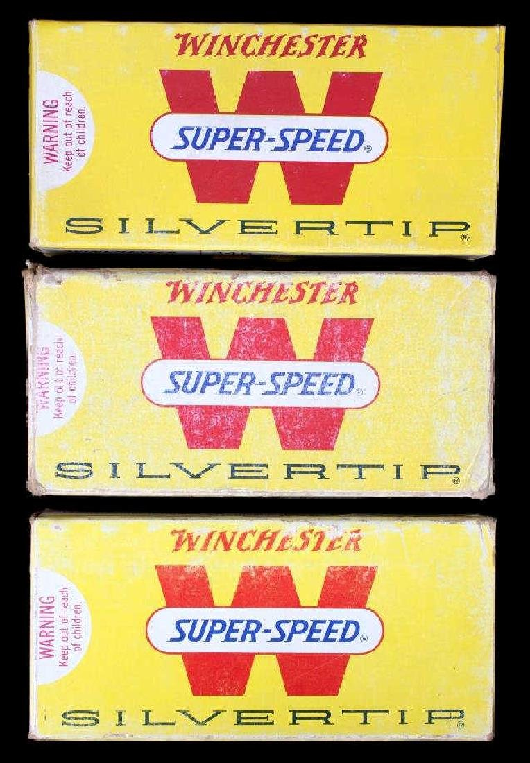 Six boxes .348 Winchester Cartridges - 7