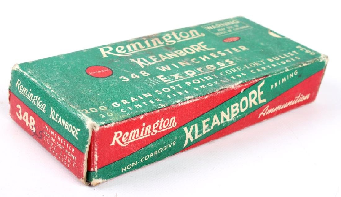 5 Boxes Remington .348 Winchester Ammo - 5