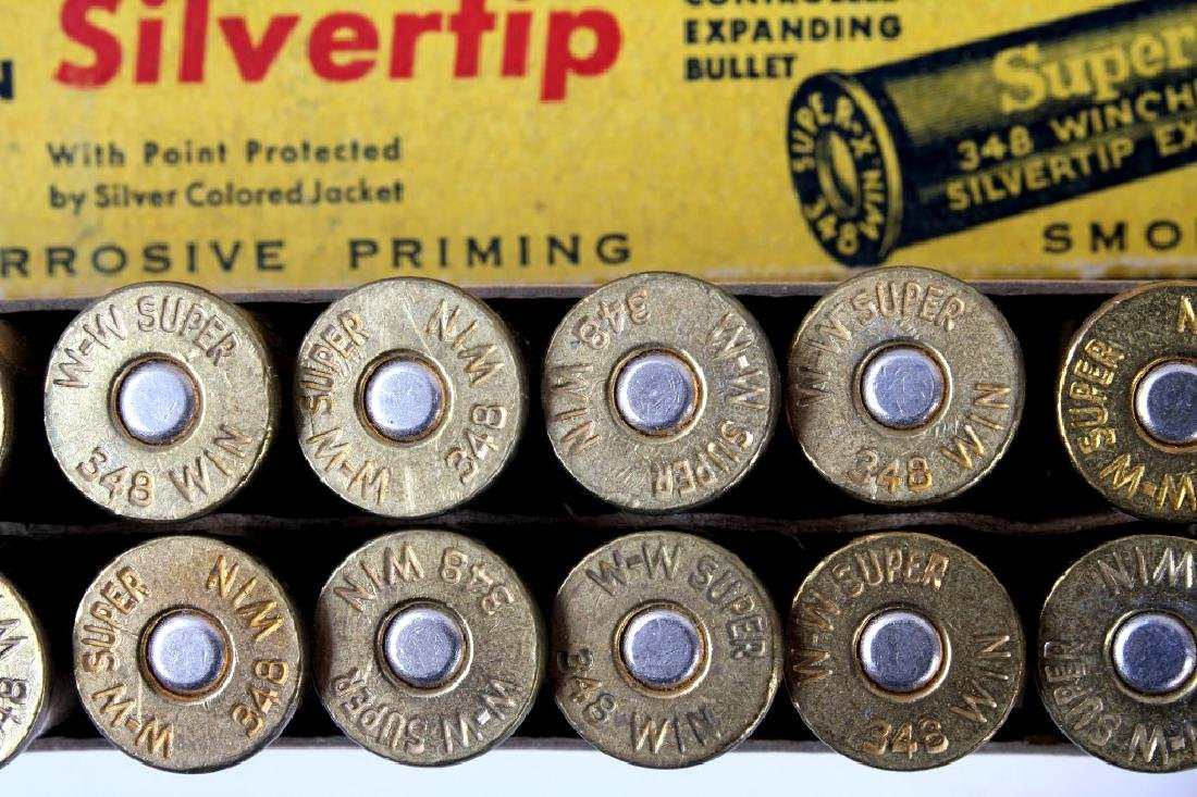 Collection of .348 Winchester Ammo - 5