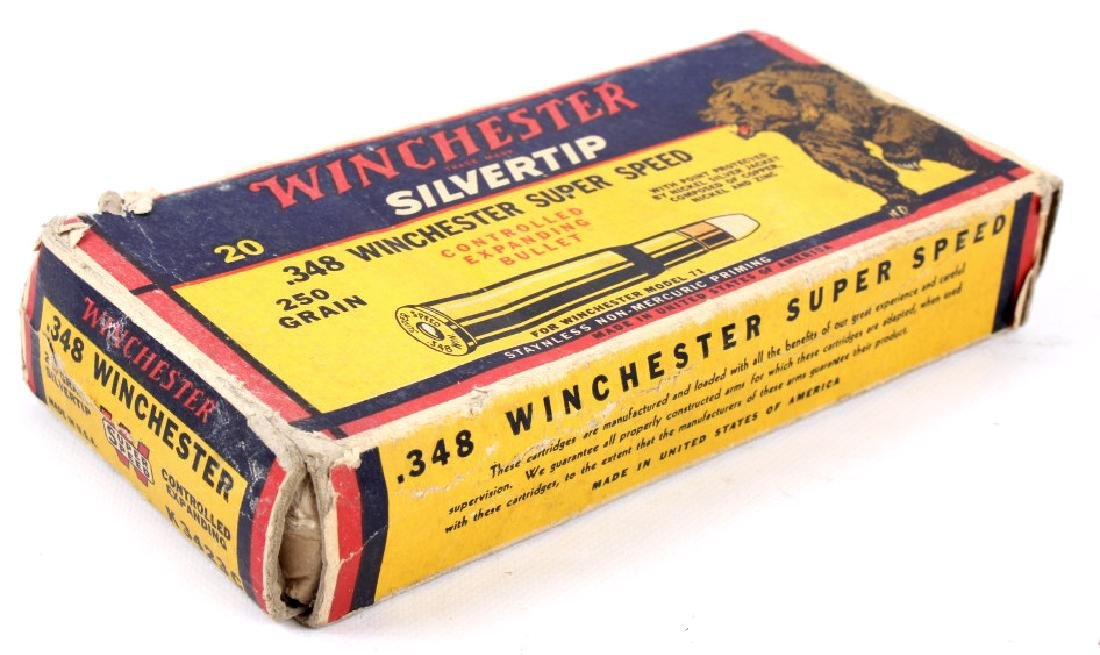 Collection of .348 Winchester Ammo - 8