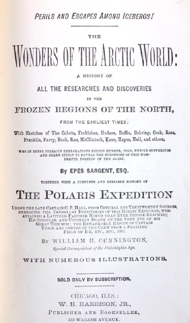 Wonders of the Arctic World 1st Edition 1873 - 3