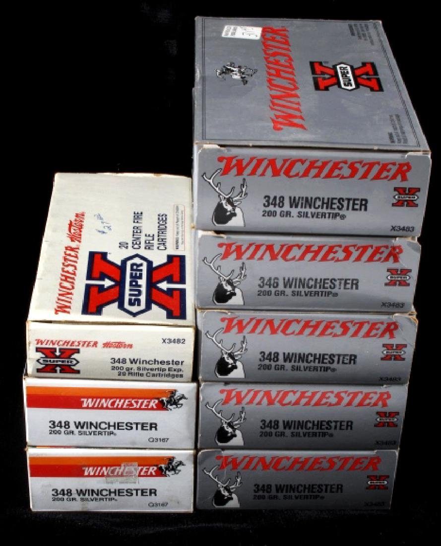 157 Rounds of 348 Winchester