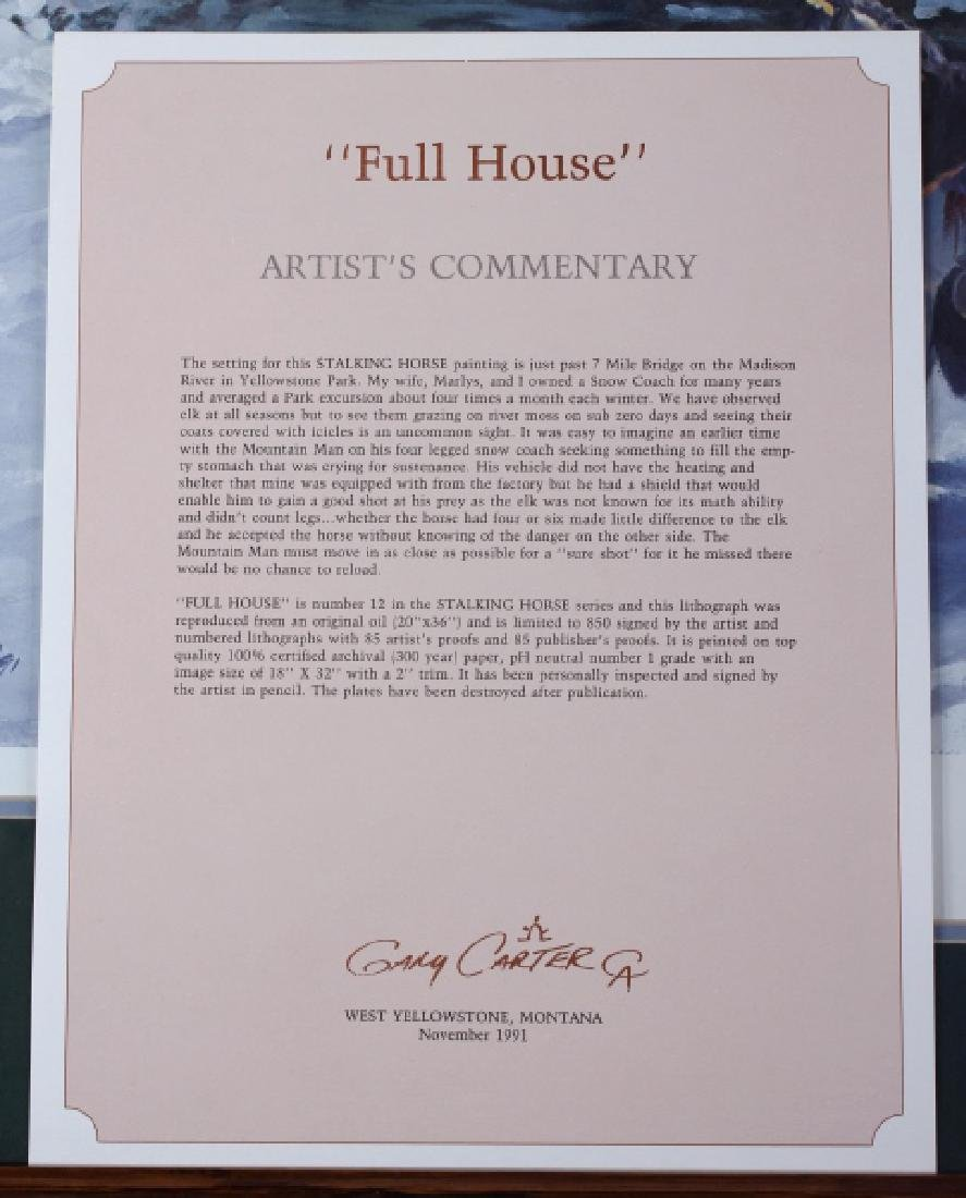 Gary Carter Signed Signed Limited Edition Print - 10