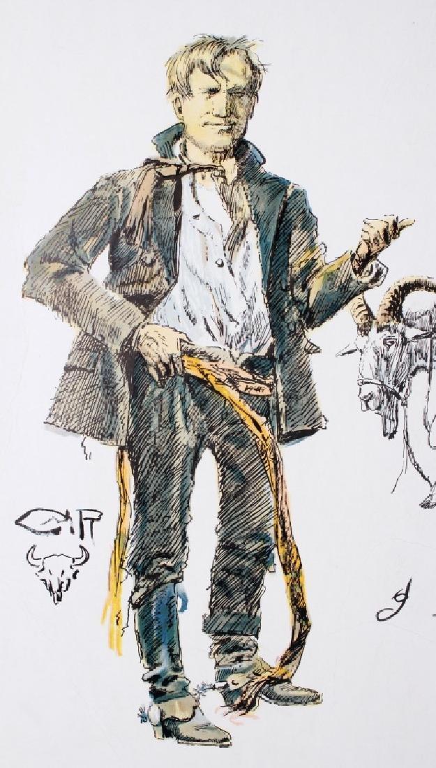 Charlie Russell B.P.O.E. Montana Print - 6