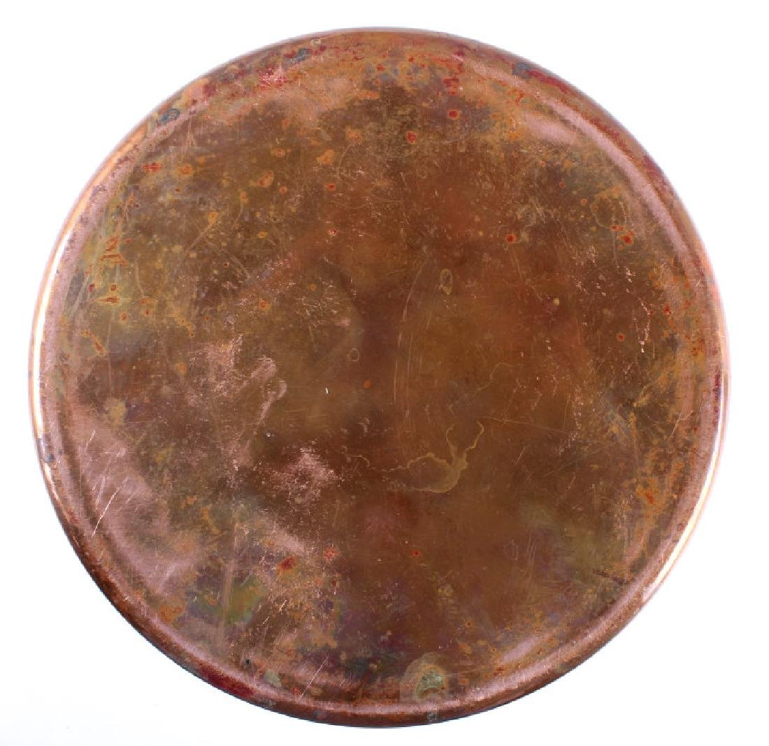 Hand Hammered French Copper/ Brass Stock Pot - 9