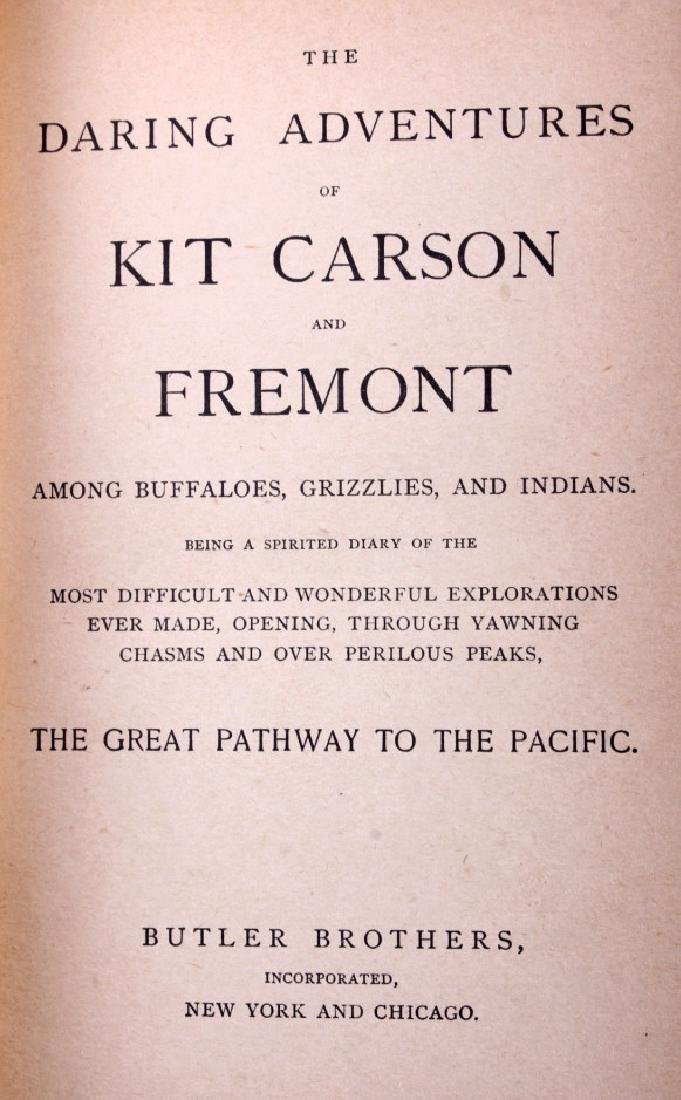 Daring Adventures of Kit Carson and Fremont 1885 - 3