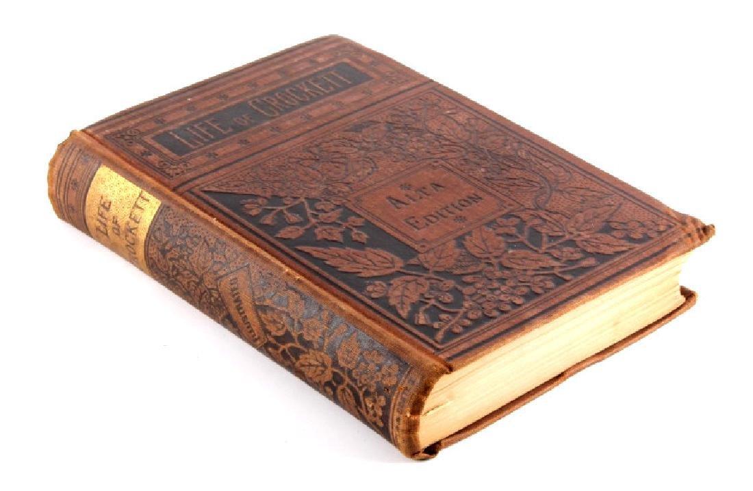 Life of Davy Crockett by Ellis 1st Edition 1884