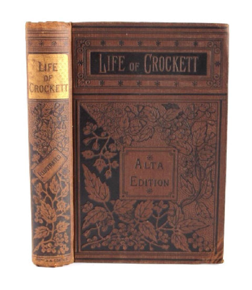 Life of Davy Crockett by Ellis 1st Edition 1884 - 2