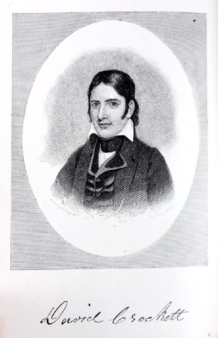 Life of Davy Crockett by Ellis 1st Edition 1884 - 4