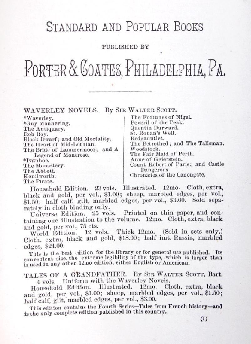 Life of Davy Crockett by Ellis 1st Edition 1884 - 6