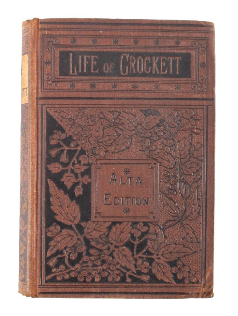 Life of Davy Crockett by Ellis 1st Edition 1884 - 7