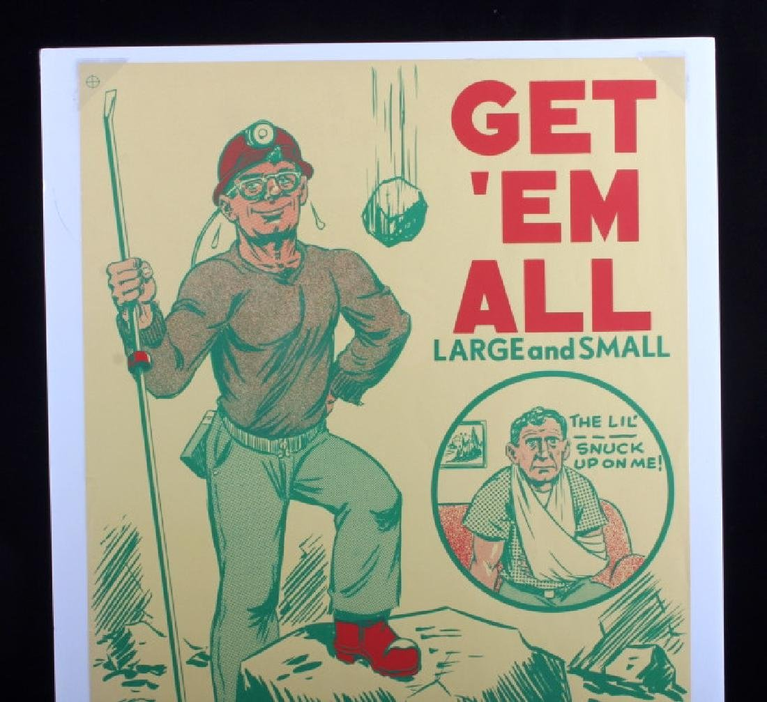 Original Anaconda Company Mining Safety Poster - 7