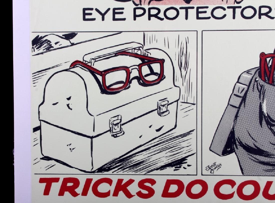 Original Anaconda Company Mining Safety Poster - 4