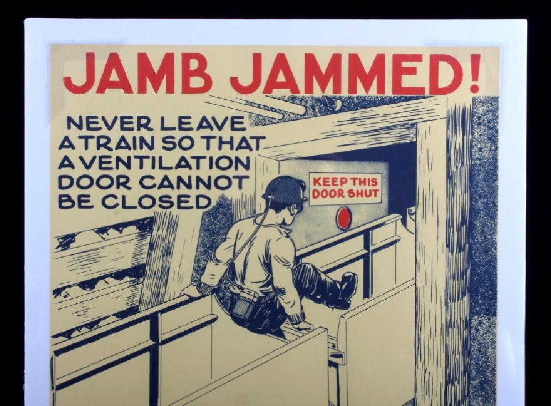 Original Anaconda Company Mining Safety Poster - 2