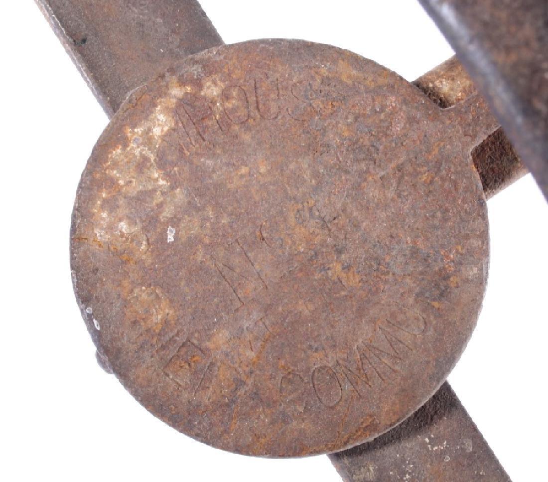 3 Antique Oneida Community S. Newhouse Traps - 4