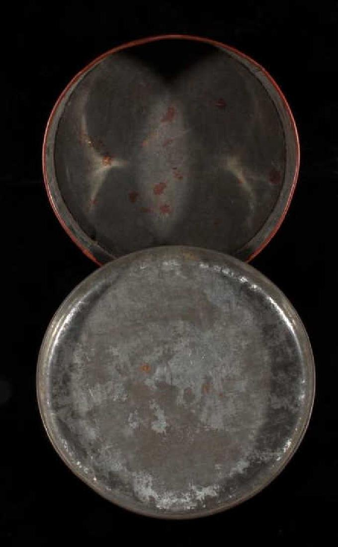 Art Deco Seminole Native American Tin Canister - 8
