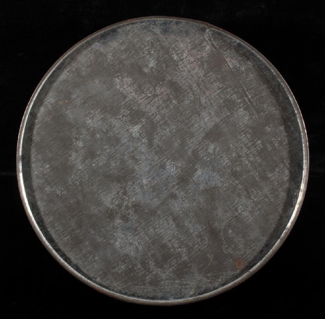 Art Deco Seminole Native American Tin Canister - 9
