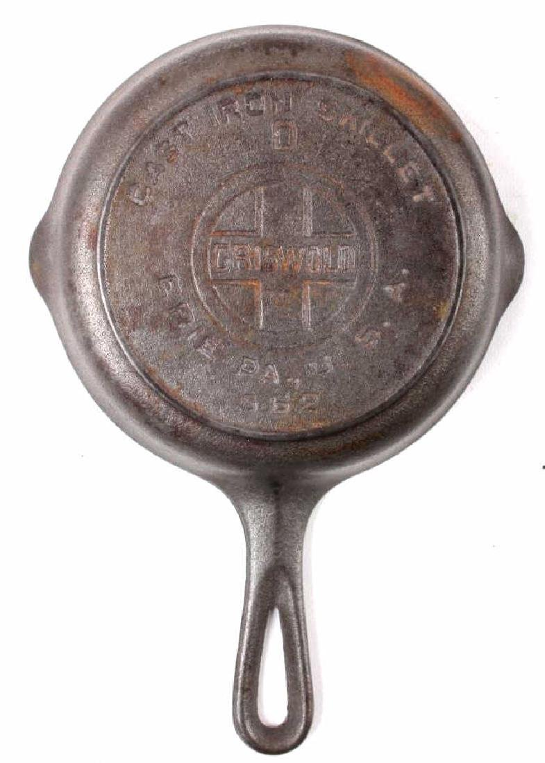 Collection of Griswold & Other Cast Iron Toy Pans - 5