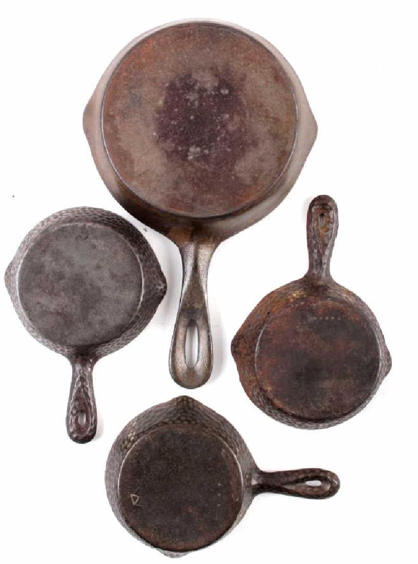 Collection of Griswold & Other Cast Iron Toy Pans - 9