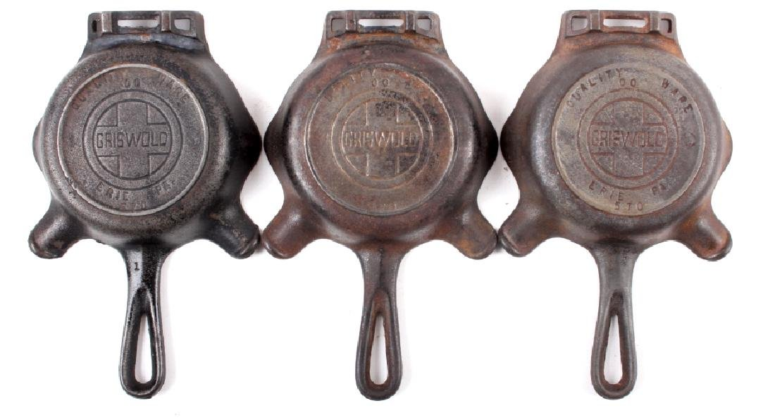 Collection Of Griswold / Wagner Cast Iron Ashtrays - 8