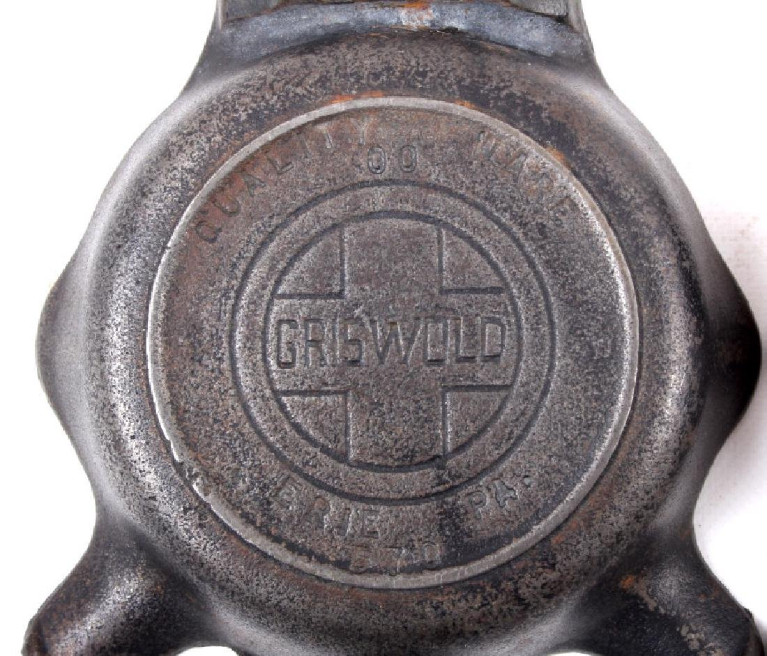 Collection Of Griswold / Wagner Cast Iron Ashtrays - 9