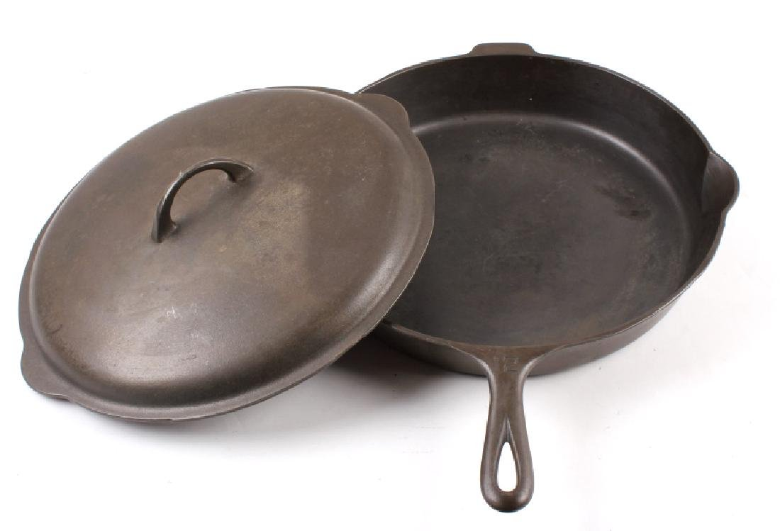 Griswold Number 12 skillet with lid