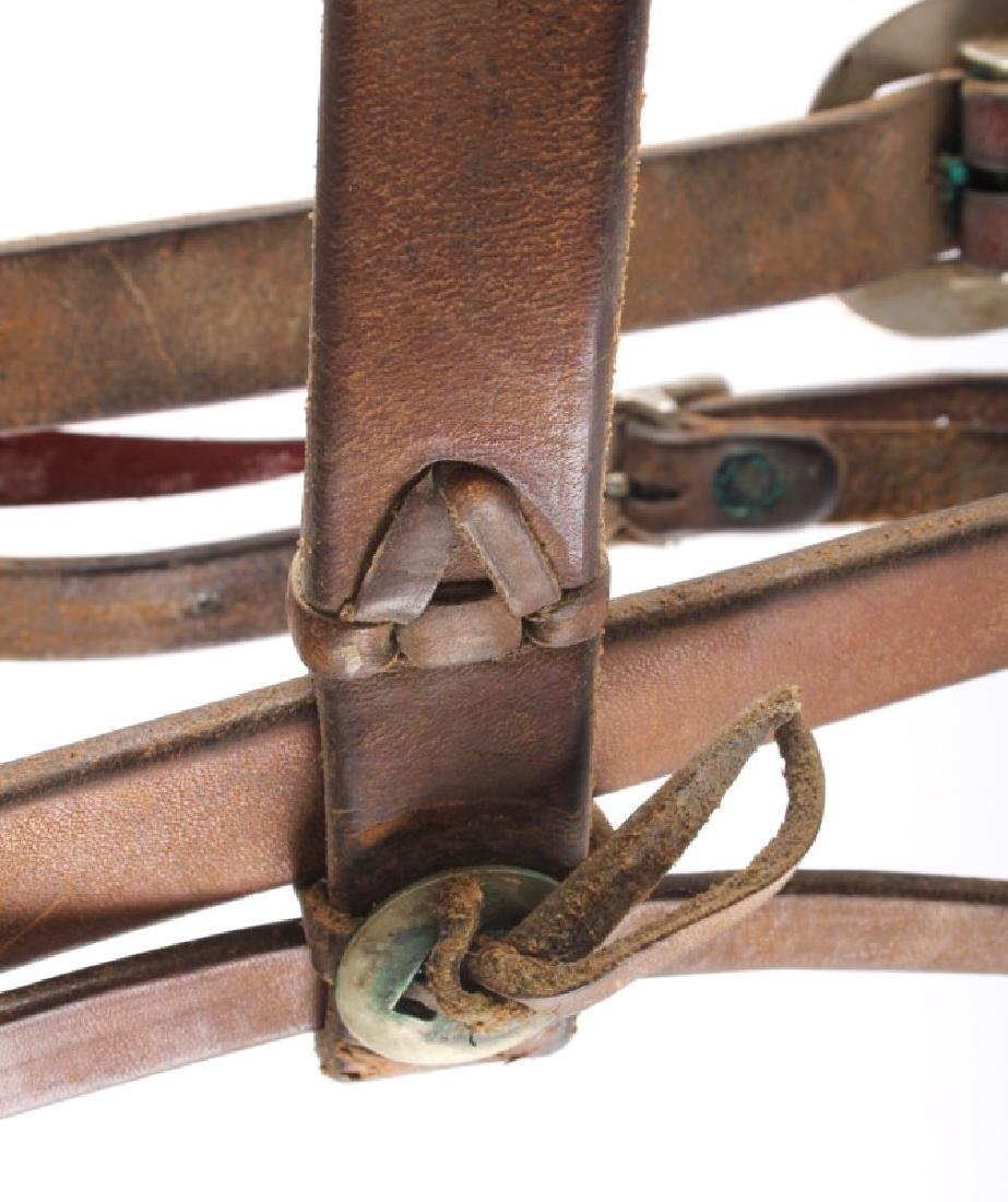 Leather Headstall with Renalde Aluminum Bit - 9