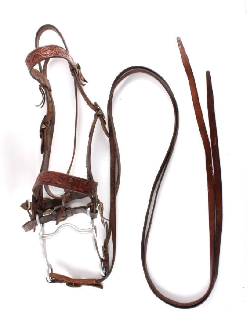 Jack Connolly Leather Headstall w/ Ricardo Bit