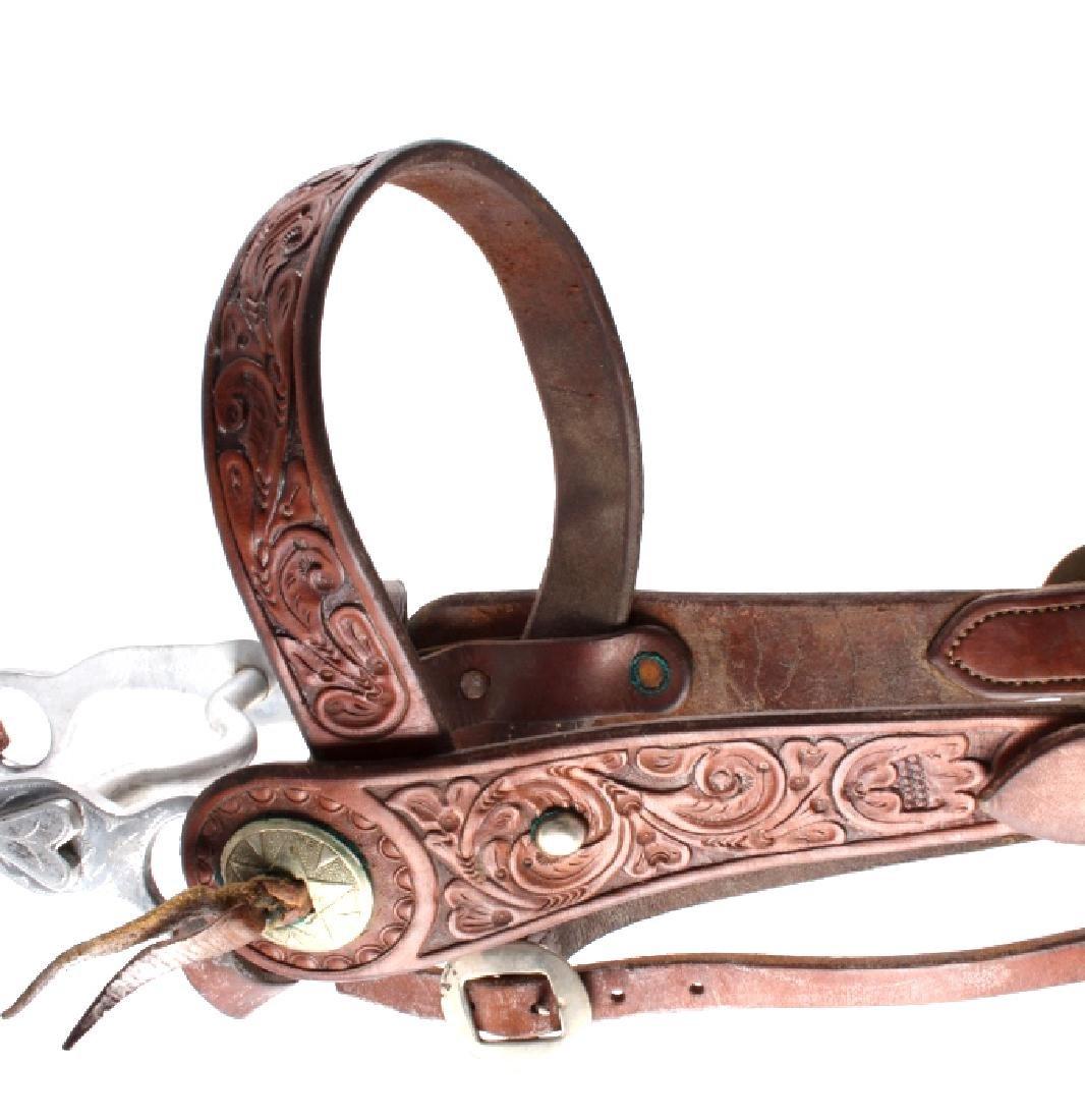 Jack Connolly Leather Headstall w/ Ricardo Bit - 3