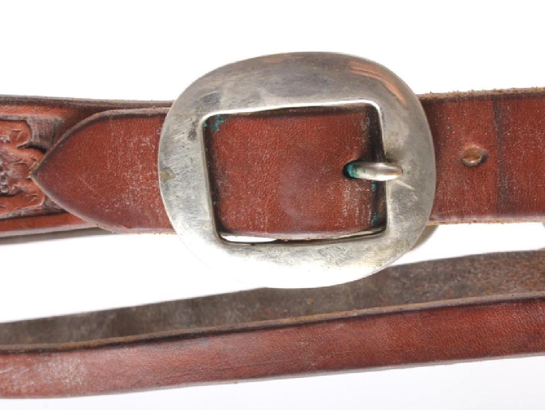 Jack Connolly Leather Headstall w/ Ricardo Bit - 5