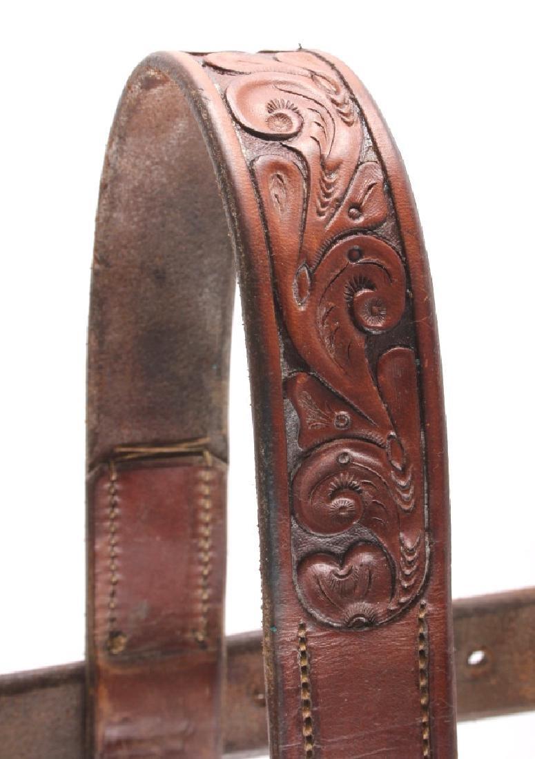 Jack Connolly Leather Headstall w/ Ricardo Bit - 8