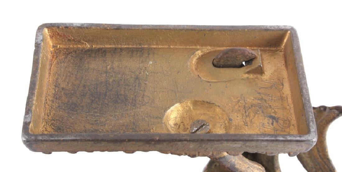 Antique Cast Iron Horse Coin Banks - 6