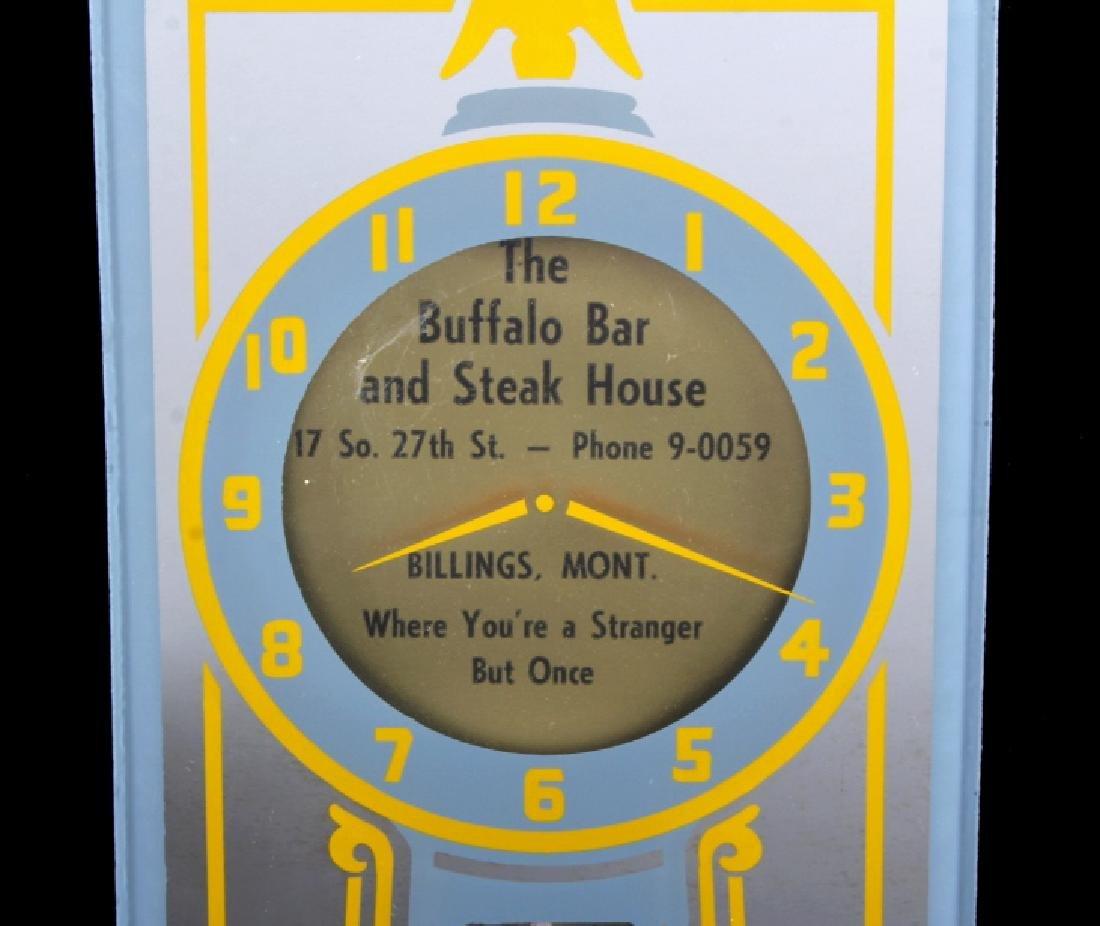 Buffalo Bar Advertising Mirror Billings Montana - 2