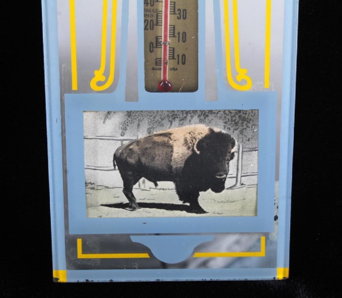 Buffalo Bar Advertising Mirror Billings Montana - 4
