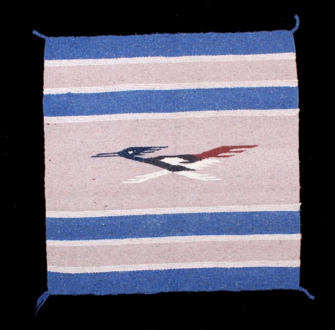 Southwestern Wool Pictorial Rug - 2