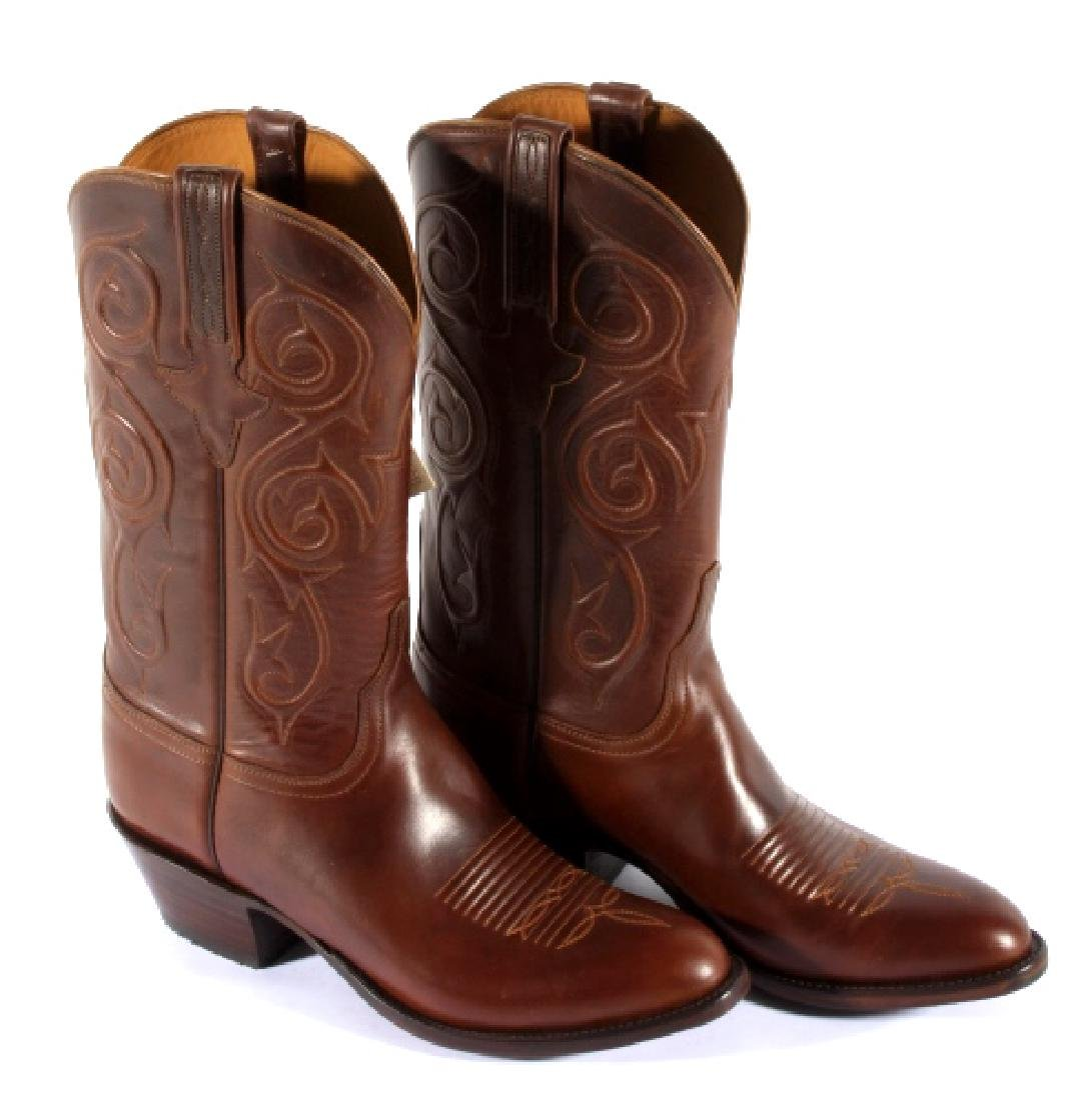 NIB Genuine Leather Lucchese Classics Cowboy Boots - 3