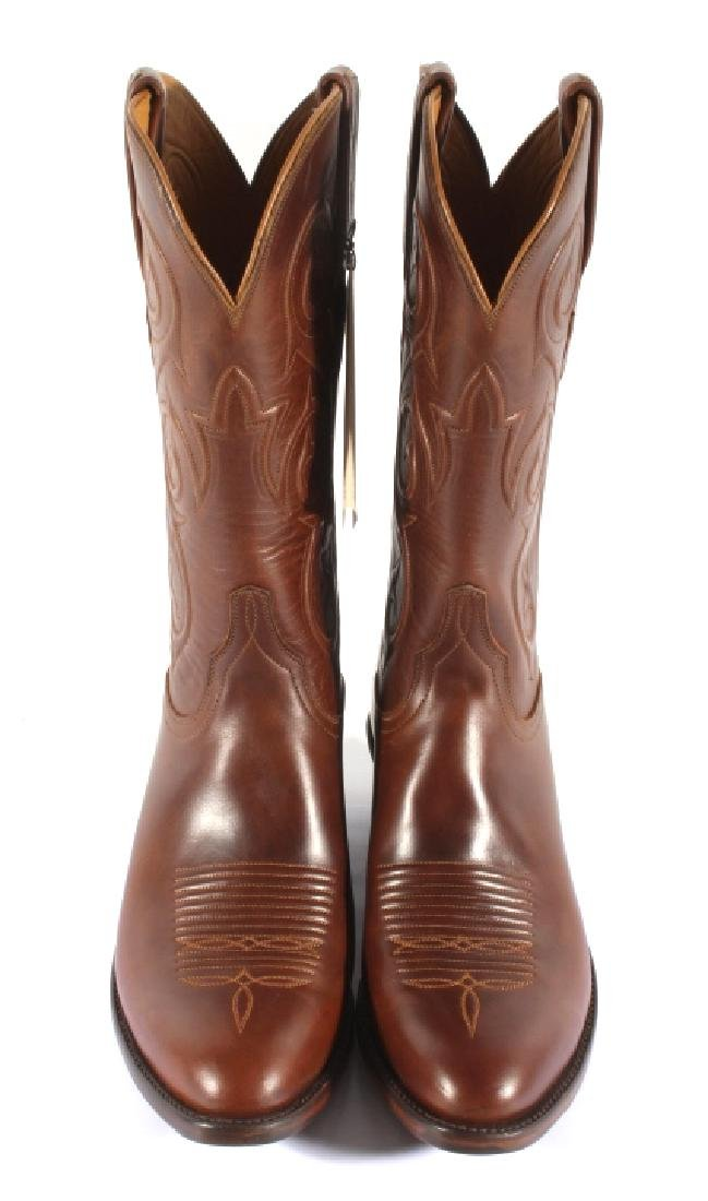 NIB Genuine Leather Lucchese Classics Cowboy Boots - 5