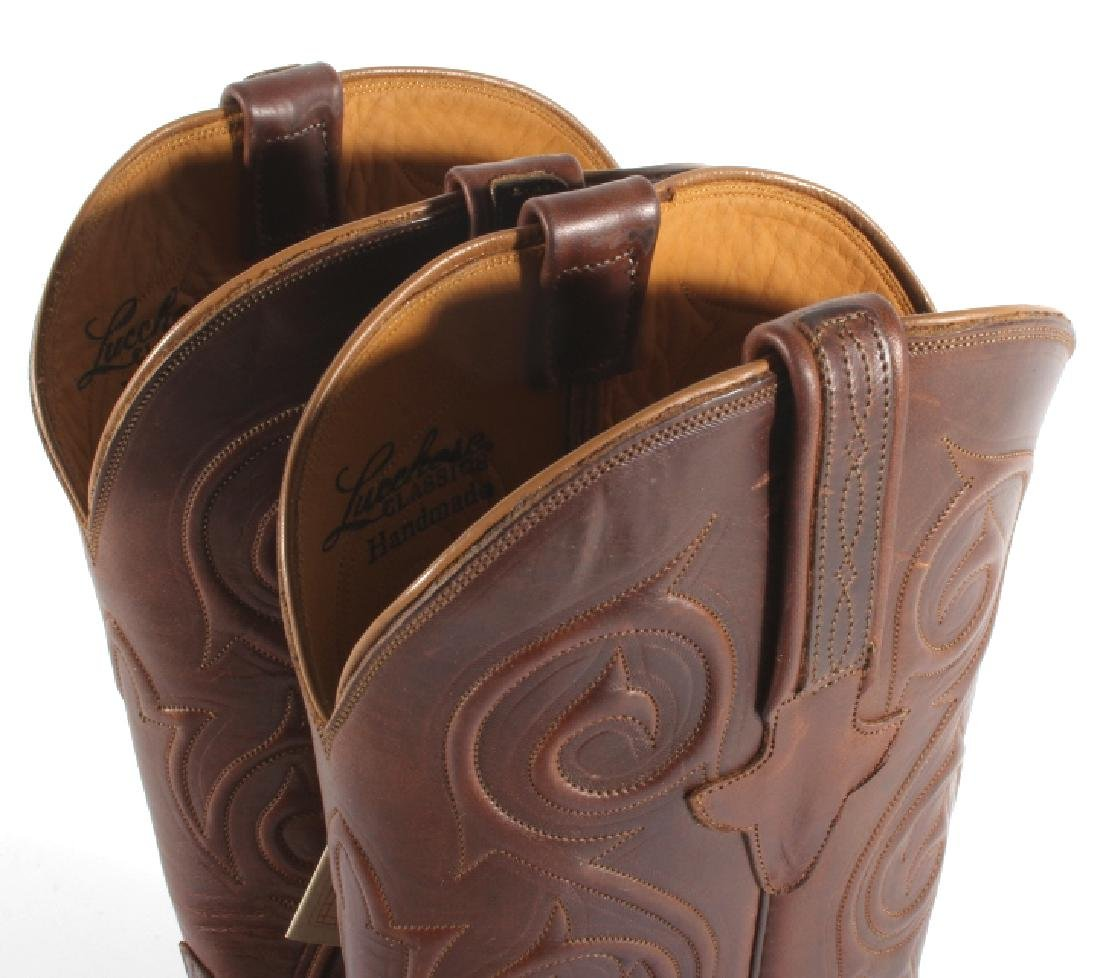 NIB Genuine Leather Lucchese Classics Cowboy Boots - 6