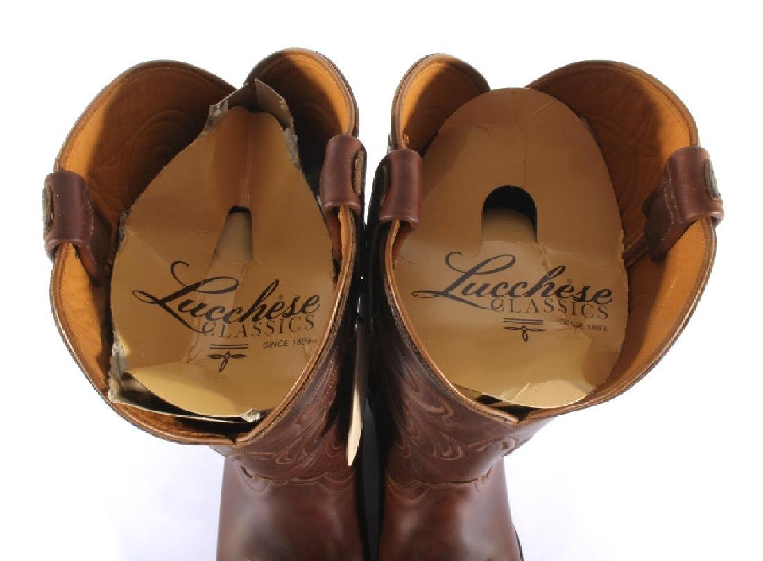 NIB Genuine Leather Lucchese Classics Cowboy Boots - 7